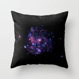 1856. A Pinwheel in X-rays (A large spiral galaxy about 25 million light years away in the constellation Ursa Major.) Throw Pillow