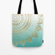 Pretty hand drawn tribal mandala elegant design Tote Bag