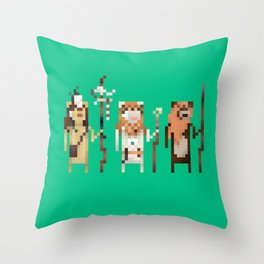 Tribal Leaders Throw Pillow