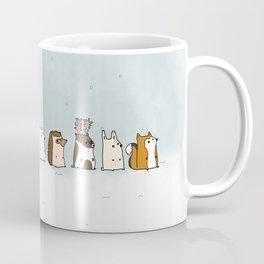 Winter forest animals Coffee Mug