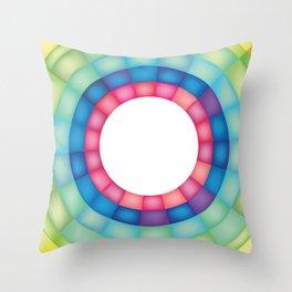 Grid Study - Close Up Throw Pillow