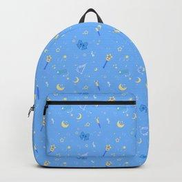Sailor Mercury Pattern Backpack