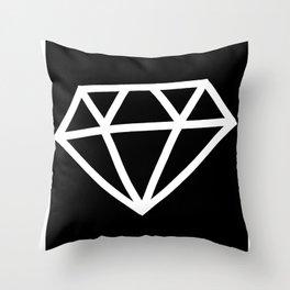P&Ls: Diamond White Throw Pillow
