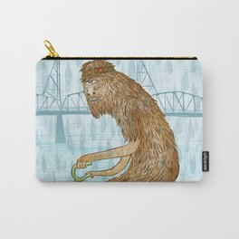Dirty Wet Bigfoot Hipster Carry-All Pouch