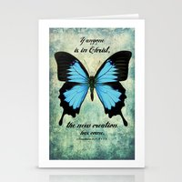 scripture Stationery Cards featuring New Creation scripture print by Kristen Ramsey