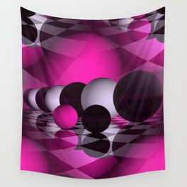 3D - abstraction -115- Wall Tapestry