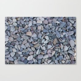 gravel as gravel background Canvas Print
