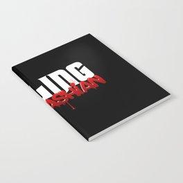 Killing Kardashian Title Logo Notebook