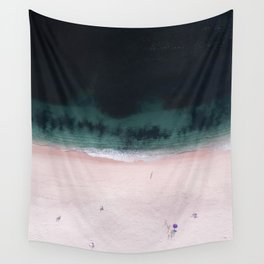 The purple umbrella Wall Tapestry