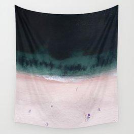 The purple umbrella Wall Tapestry