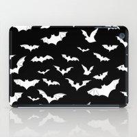 bats iPad Cases featuring Bats by PunkRockPlanet