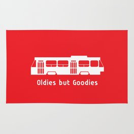 Oldies but Goodies - Streetcar, Toronto, ON, Canada Rug