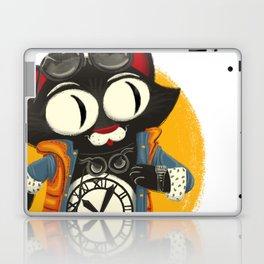 Time Cat Laptop & iPad Skin