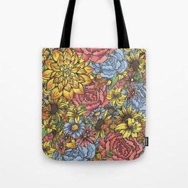 Flowers Flowers Flowers Tote Bag