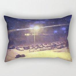 Winter in my city Rectangular Pillow