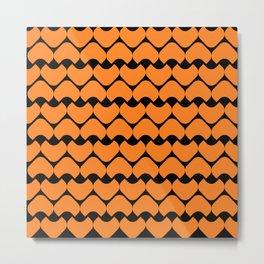 Seamless Geometric Pattern XXII Metal Print
