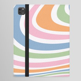 Retro Wave iPad Folio Case