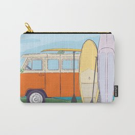 Best time to surfing Carry-All Pouch