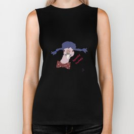Spunky Turkey Purple Hair TX Biker Tank