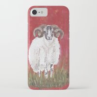 sheep iPhone & iPod Cases featuring Sheep by Catherine Johnson