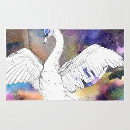 Virgo Swan Rug