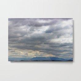Cloudy Day II Metal Print