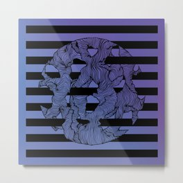 Ultraviolet Energy Metal Print
