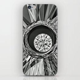 Diamond in Wire iPhone Skin