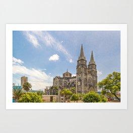 Metropolitan Cathedral Fortaleza Brazil Art Print