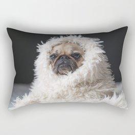PUG VIBES Rectangular Pillow