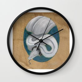 Dwarf boa Wall Clock