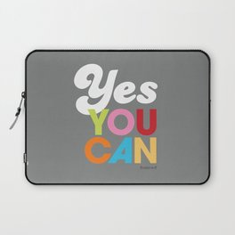 YES YOU CAN Laptop Sleeve