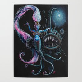 Goddess in the Deep Poster
