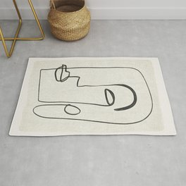 Abstract Face 27 Rug