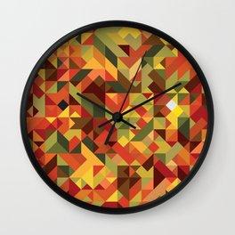 Demon of the fall Wall Clock