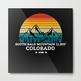SOUTH BALD MOUNTAIN Colorado Metal Print