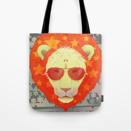 Lion Star Tote Bag