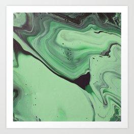 Malachite 1 Art Print