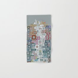 Abstract Composition 685 Hand & Bath Towel