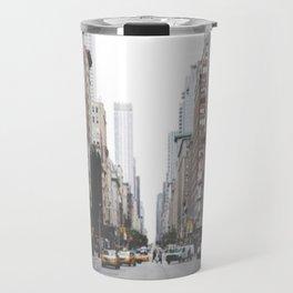 New York City Street Travel Mug