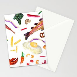 Food Lover Stationery Cards