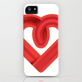 In the name of love iPhone Case