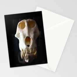 baboon bones Stationery Cards
