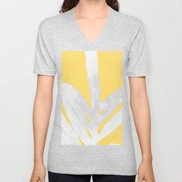 Ferns and Tangerines Unisex V-Neck