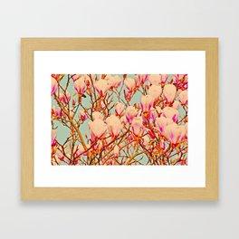 Magnolia of Love Framed Art Print