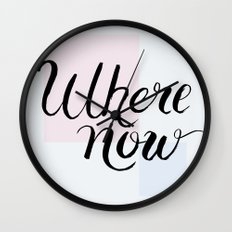 Where now Wall Clock