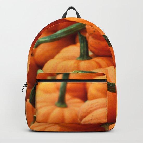Autumn Pumpkins Backpack