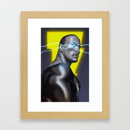 Black Adam Framed Art Print