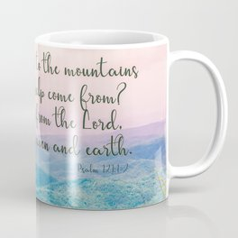 Psalm 121 1 Coffee Mug