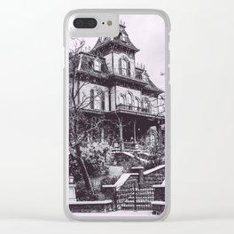 Disneyland Paris, Phantom Manor, France Clear iPhone Case